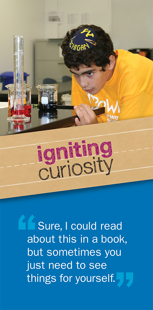 igniting curiosity banner