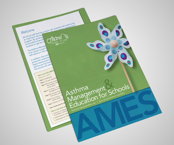 asthma management kit materials