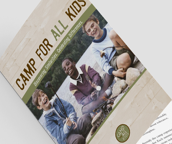 Camp for All Kids brochure