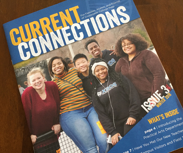 Current Connections magazine cover