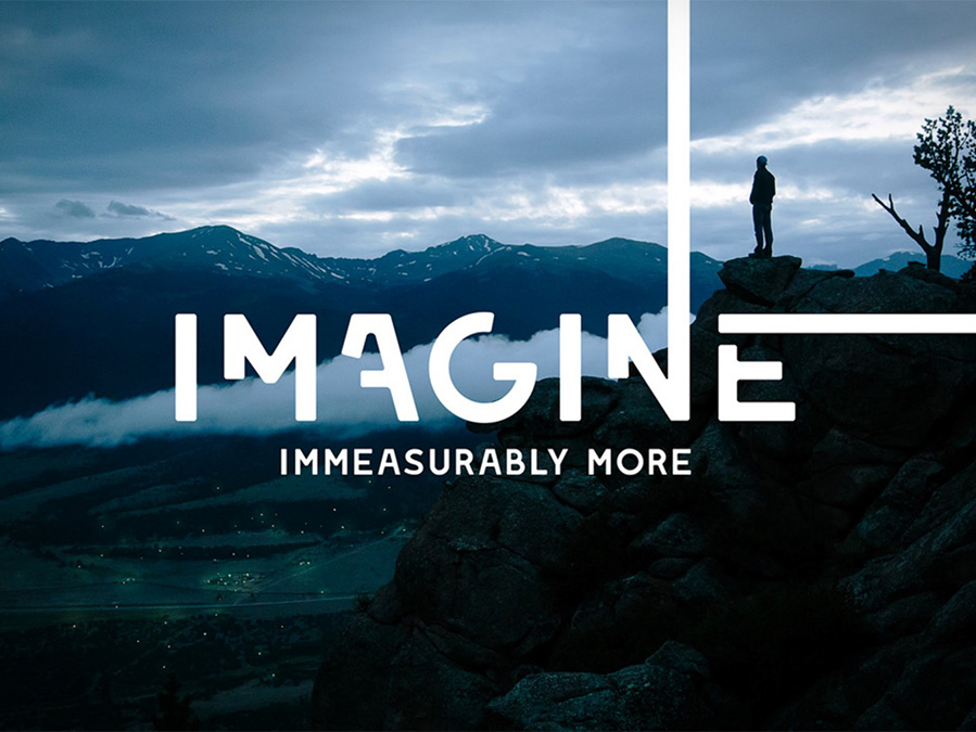 Imagine Immeasurably More annual giving campaign brochure cover