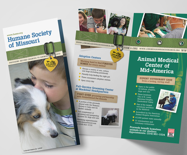 Humane Society of Missouri general brochure