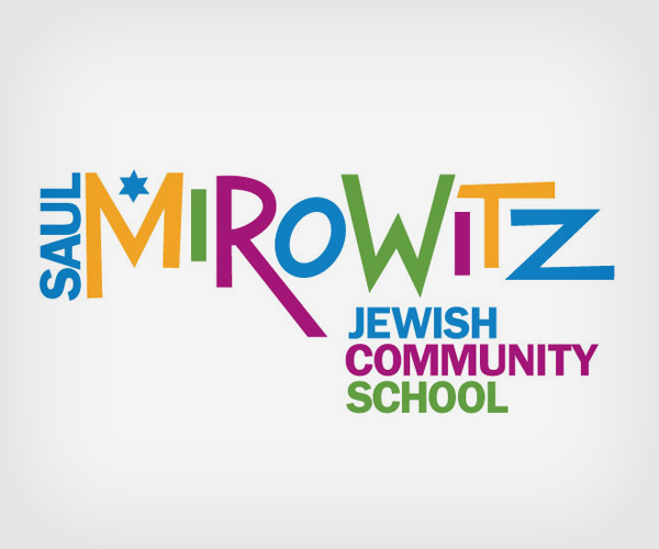 full color logo for Saul Mirowitz Jewish Community School