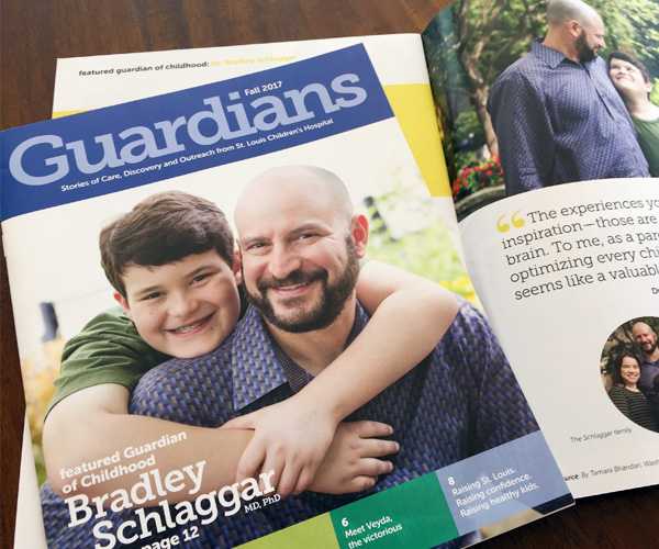 guardians magazine cover and spread