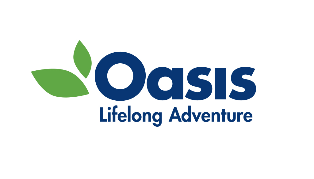 Oasis logo and tagline