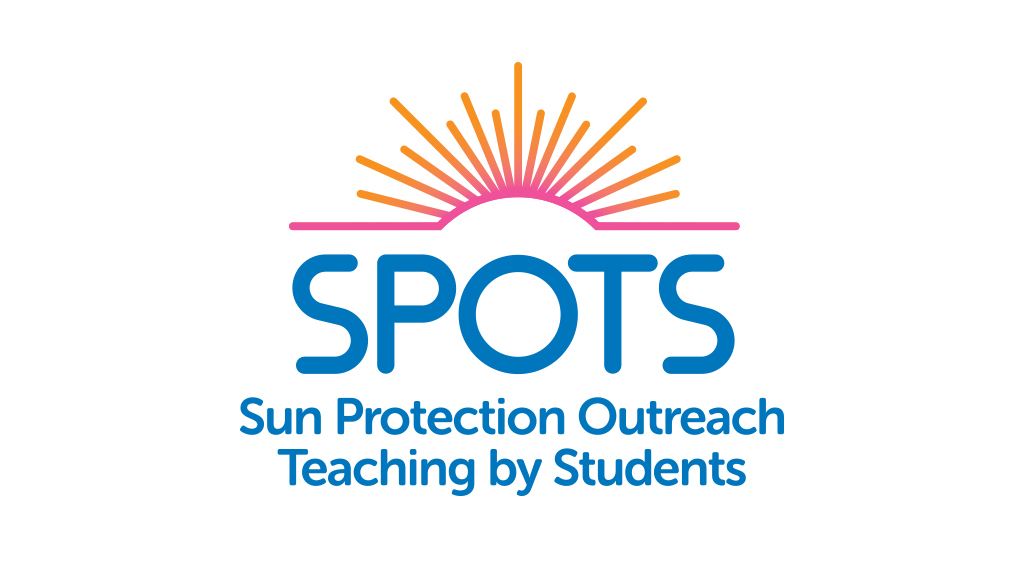 SPOTS Sun Protection Outreach Teaching by Students logo