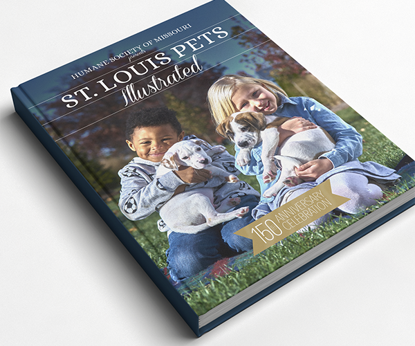 saint Louis Pets Illustrated hardcover book